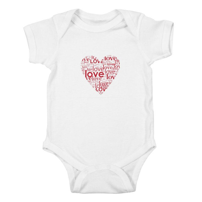 Love Kids Baby Bodysuit by wellchosenletters' Artist Shop