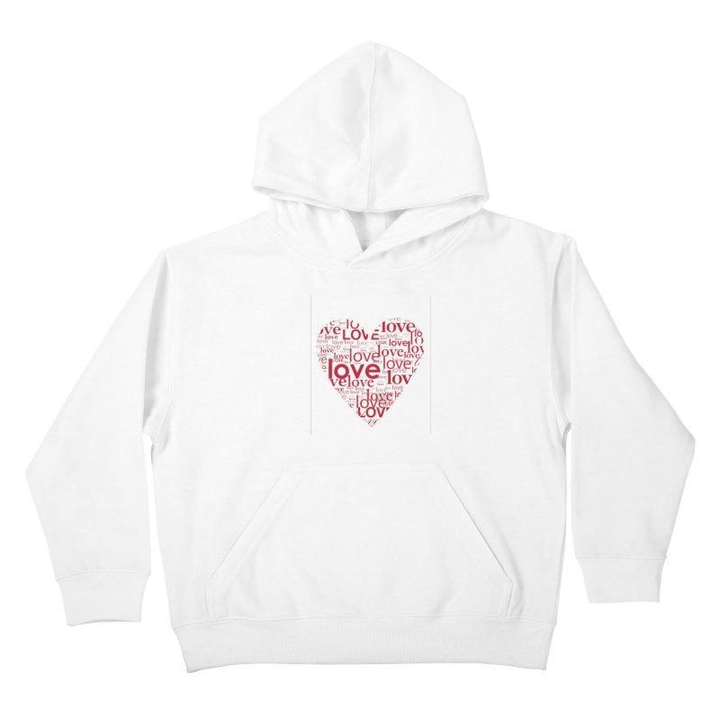 Love Kids Pullover Hoody by wellchosenletters' Artist Shop