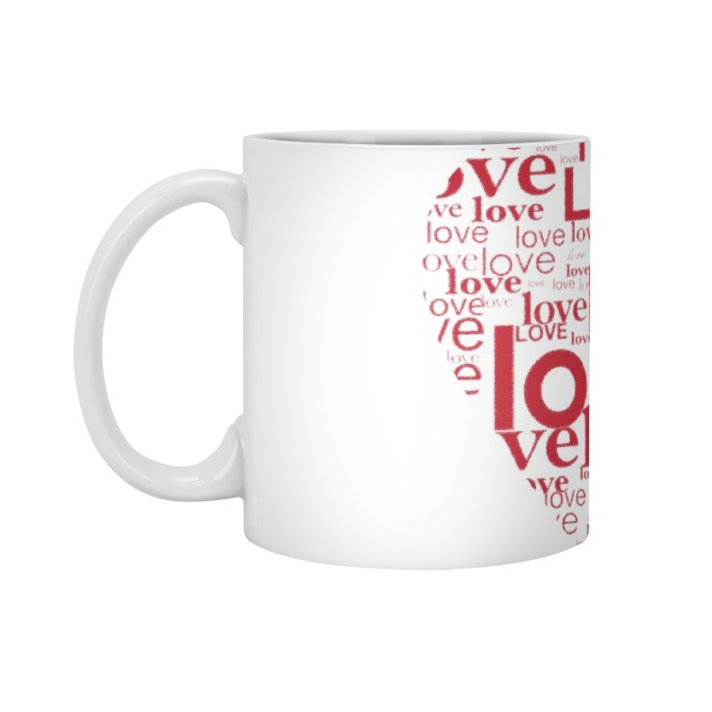Love Accessories Mug by wellchosenletters' Artist Shop