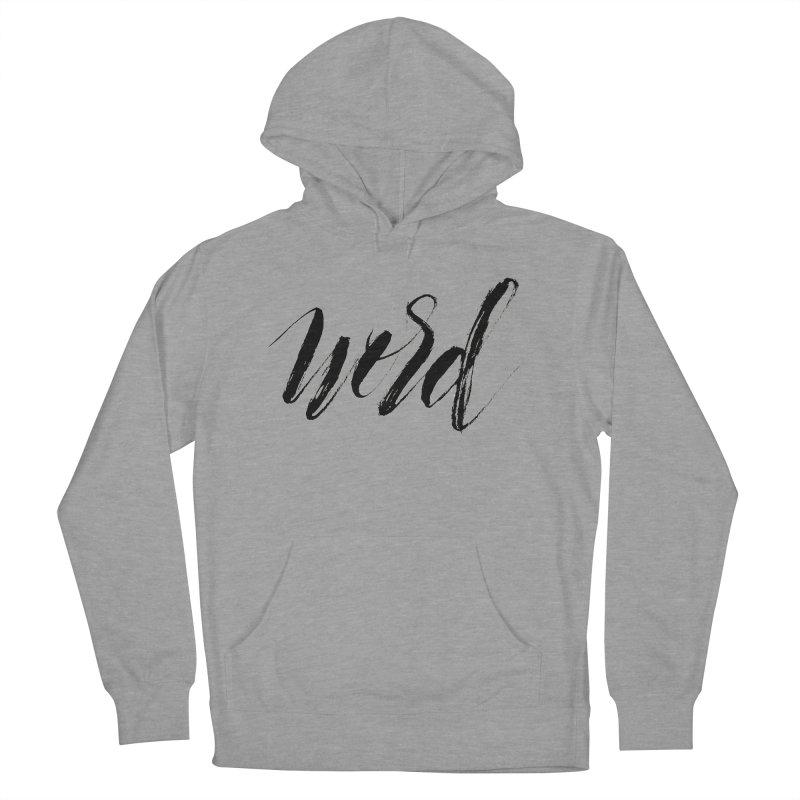 Word Men's Pullover Hoody by wellchosenletters' Artist Shop