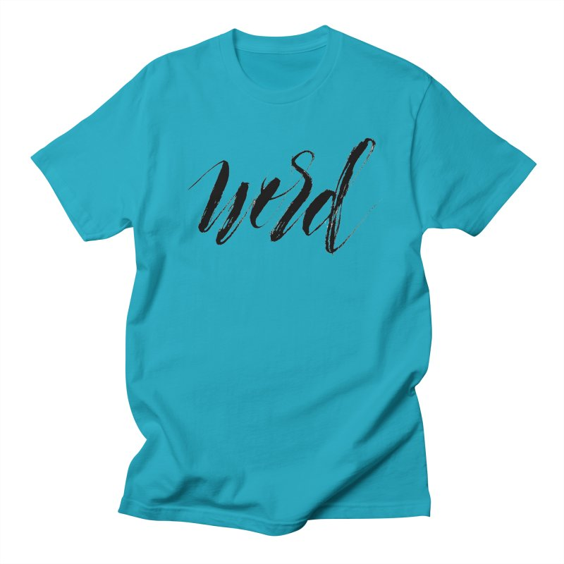 Word Men's T-Shirt by wellchosenletters' Artist Shop