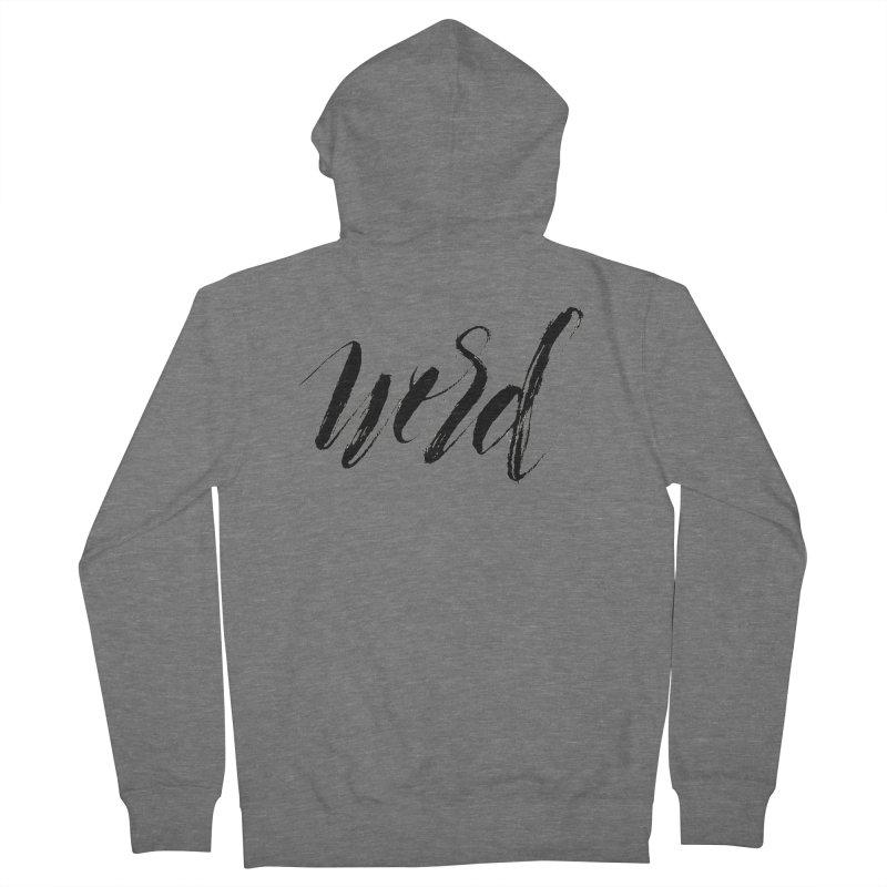 Word Women's Zip-Up Hoody by wellchosenletters' Artist Shop