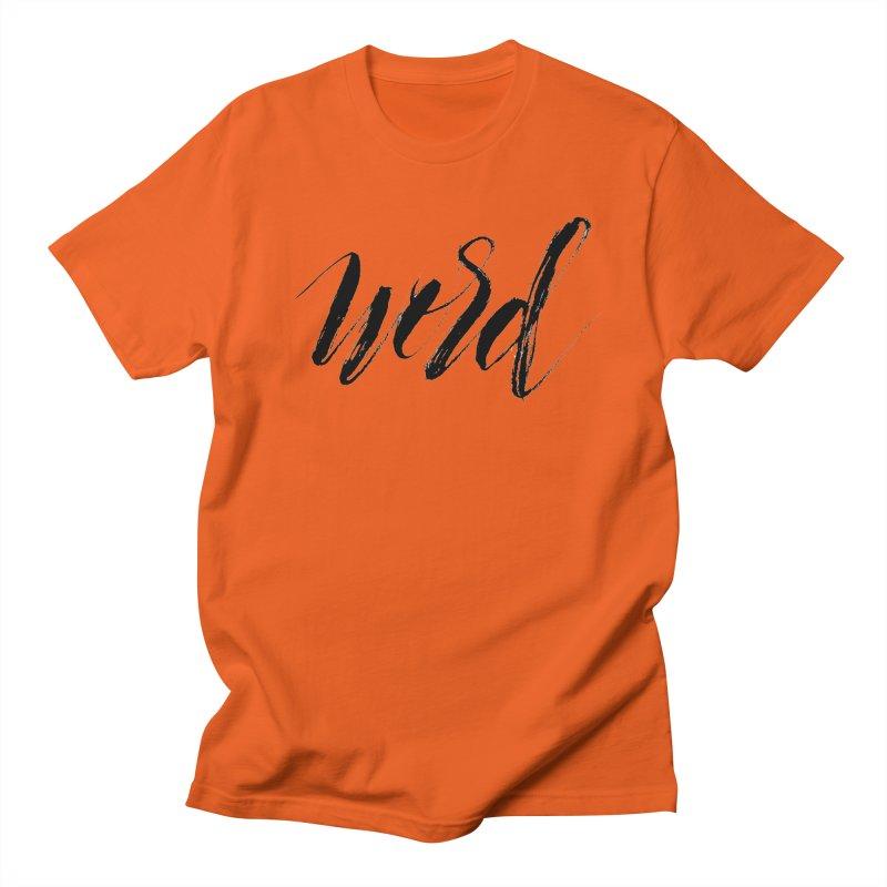 Word Men's Regular T-Shirt by wellchosenletters' Artist Shop