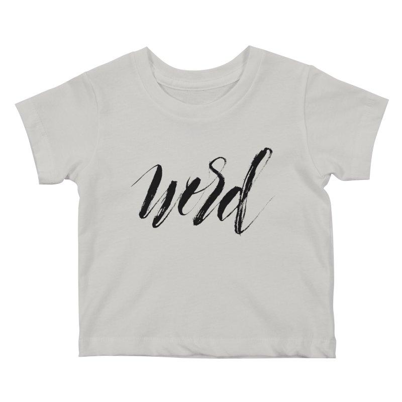 Word Kids Baby T-Shirt by wellchosenletters' Artist Shop