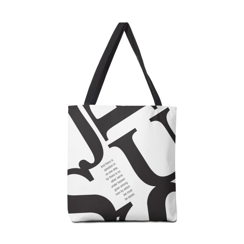 No Other Name Accessories Bag by wellchosenletters' Artist Shop