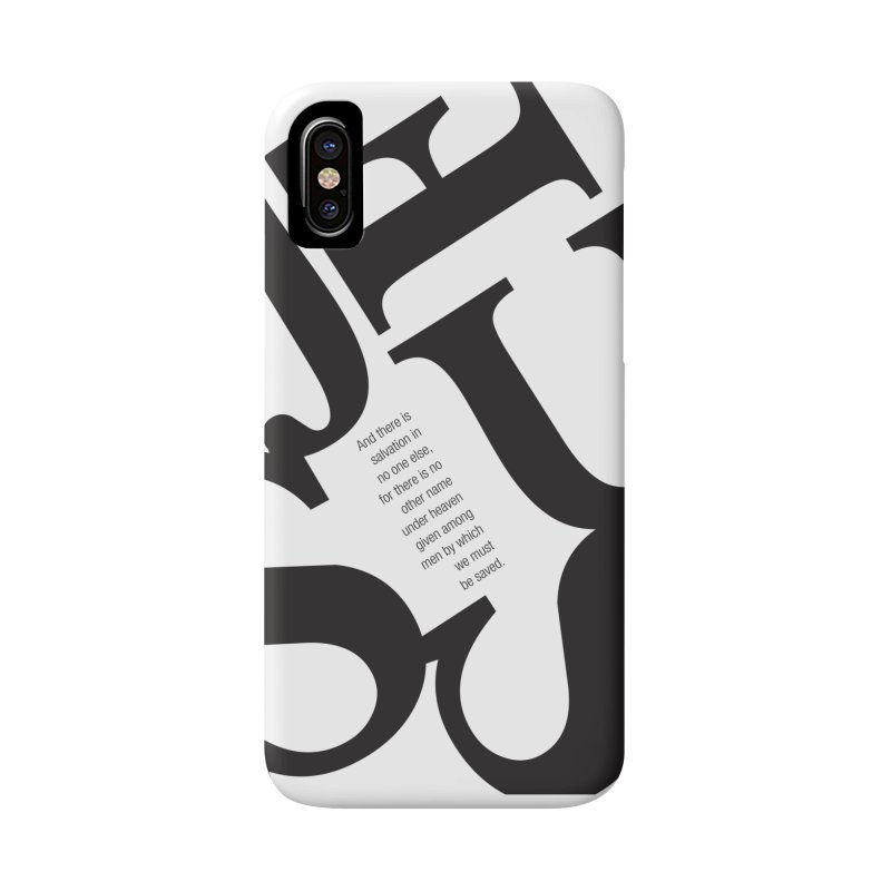 No Other Name Accessories Phone Case by wellchosenletters' Artist Shop