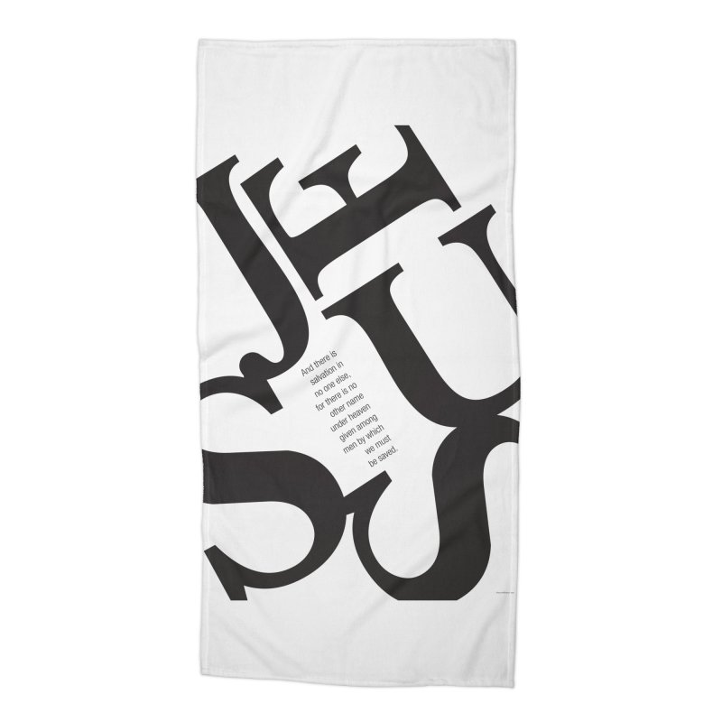 No Other Name Accessories Beach Towel by wellchosenletters' Artist Shop