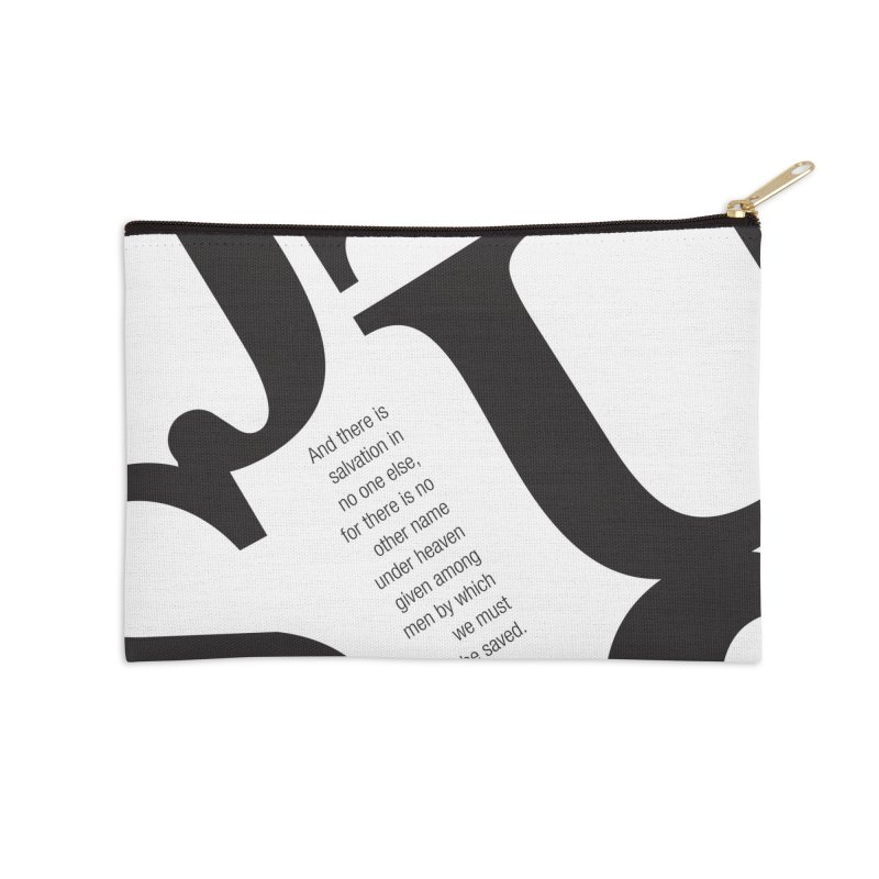 No Other Name Accessories Zip Pouch by wellchosenletters' Artist Shop