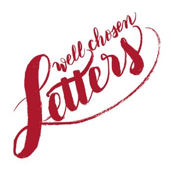 wellchosenletters' Artist Shop Logo
