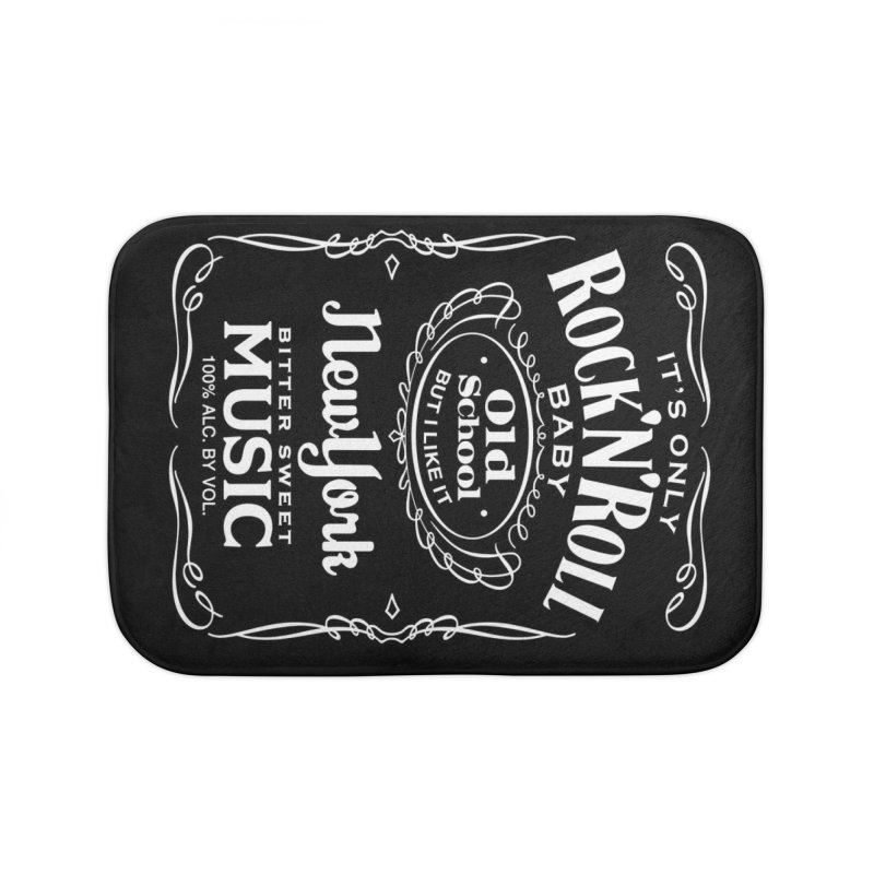 It's Only Rock 'n Roll Home Bath Mat by wendigoproductionsnyc's Shop