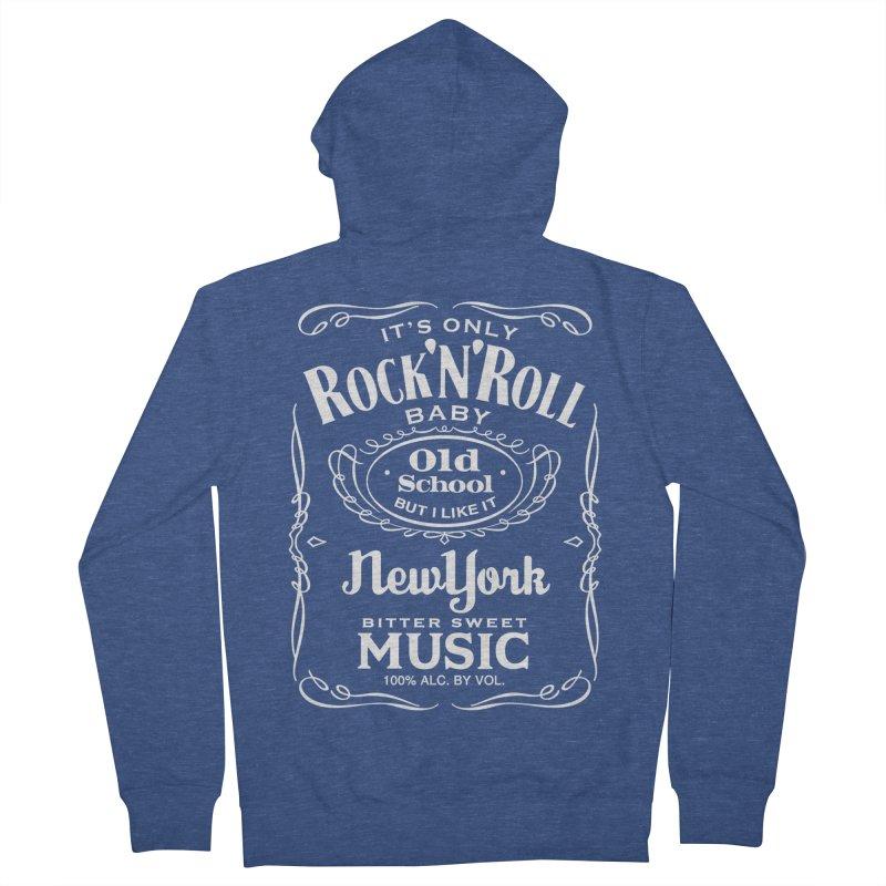 It's Only Rock 'n Roll Men's Zip-Up Hoody by wendigoproductionsnyc's Shop