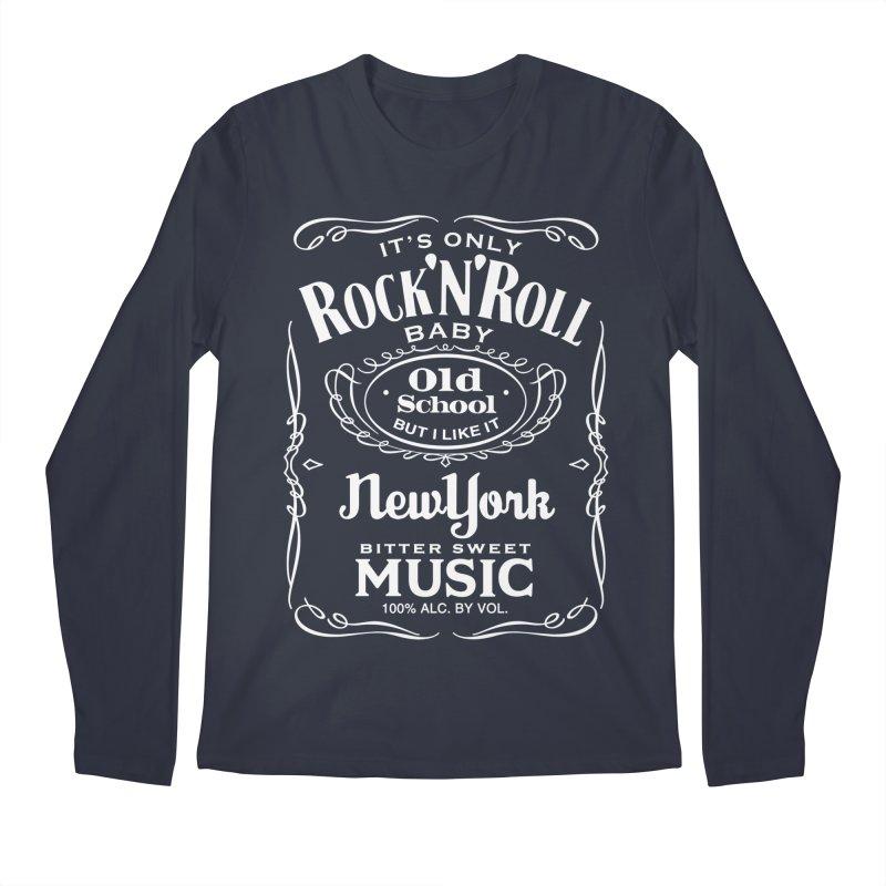It's Only Rock 'n Roll Men's Longsleeve T-Shirt by wendigoproductionsnyc's Shop