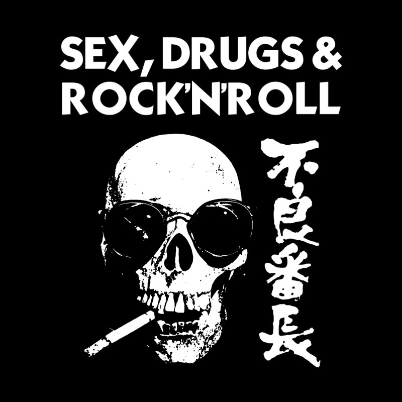 SEX, DRUGS & ROCK'N'ROLL - JAPANESE Women's T-Shirt by wendigoproductionsnyc's Shop