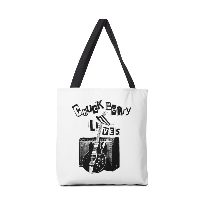 CHUCK BERRY LIVES Accessories Bag by wendigoproductionsnyc's Shop