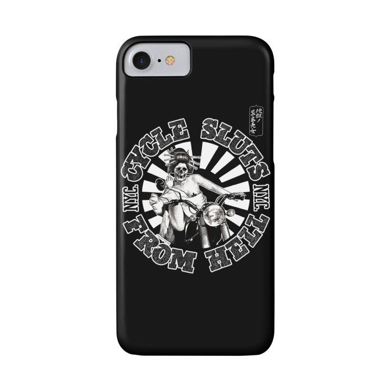 CYCLE SLUTS FROM HELL - Zombie Geisha Edition Accessories Phone Case by wendigoproductionsnyc's Shop