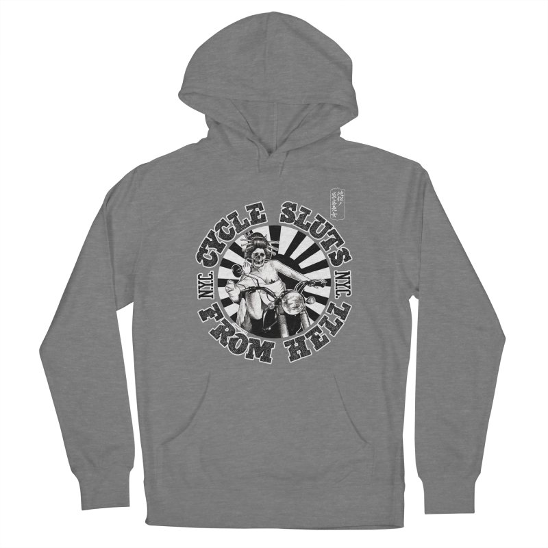CYCLE SLUTS FROM HELL - Zombie Geisha Edition Women's Pullover Hoody by wendigoproductionsnyc's Shop