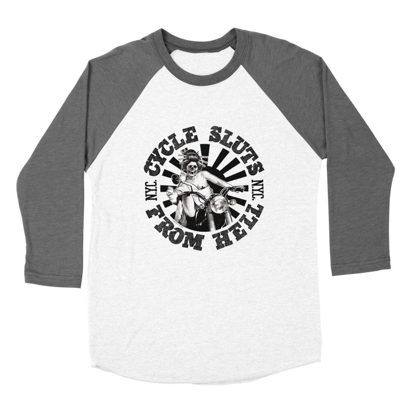 CYCLE SLUTS FROM HELL - Zombie Geisha Edition Women's Longsleeve T-Shirt by wendigoproductionsnyc's Shop
