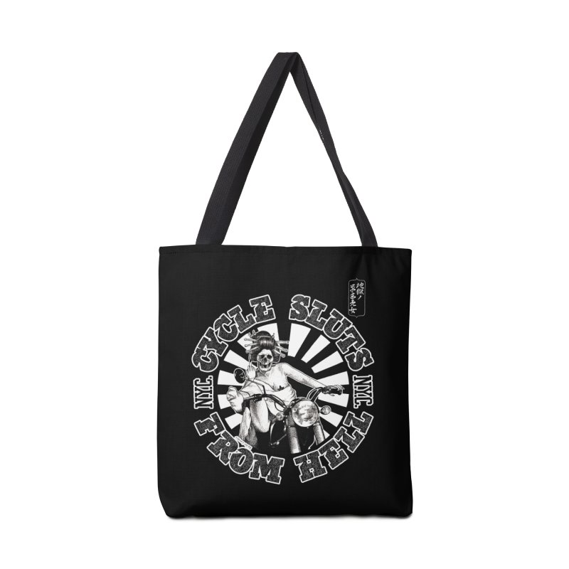 CYCLE SLUTS FROM HELL - Zombie Geisha Edition Accessories Bag by wendigoproductionsnyc's Shop