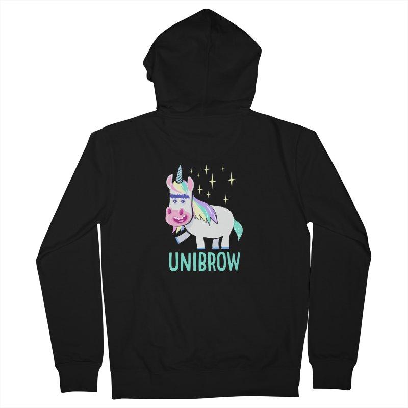 Unibrow Men's Zip-Up Hoody by