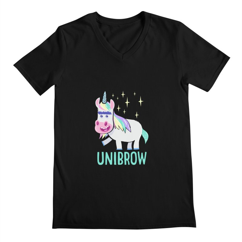 Unibrow Men's V-Neck by
