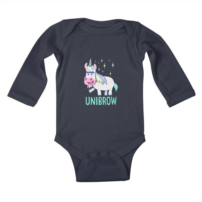 Unibrow Kids Baby Longsleeve Bodysuit by