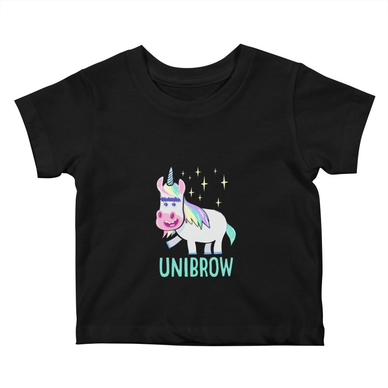 Unibrow Kids Baby T-Shirt by