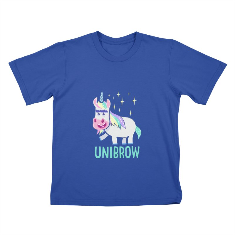Unibrow Kids T-Shirt by
