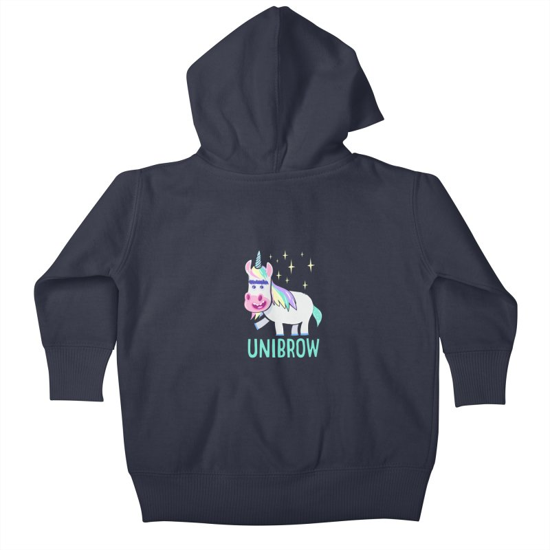 Unibrow Kids Baby Zip-Up Hoody by