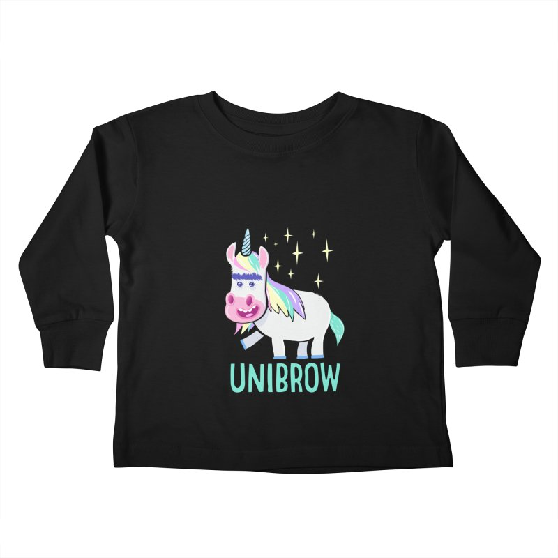 Unibrow Kids Toddler Longsleeve T-Shirt by