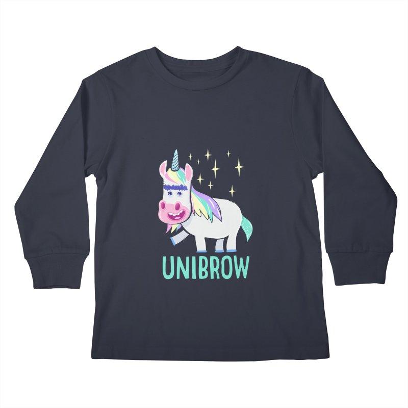 Unibrow Kids Longsleeve T-Shirt by