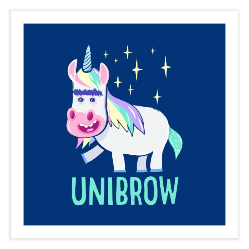 Unibrow Home Fine Art Print by