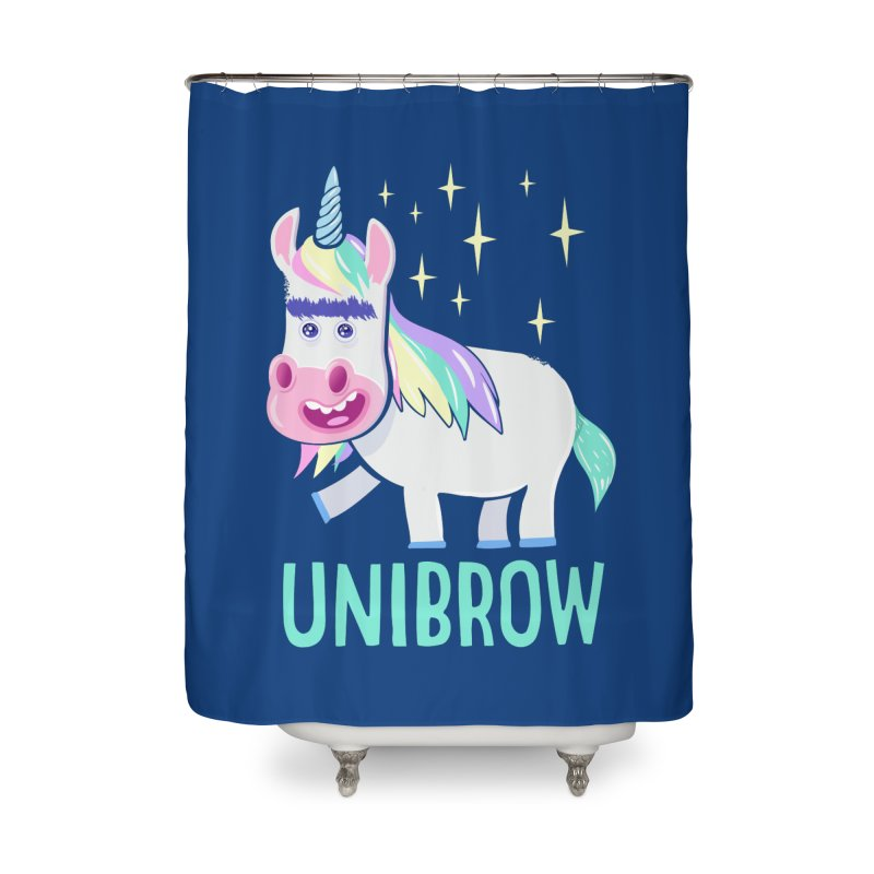 Unibrow Home Shower Curtain by