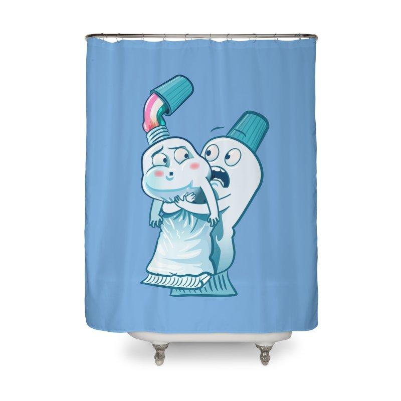 Heimlich maneuver Home Shower Curtain by