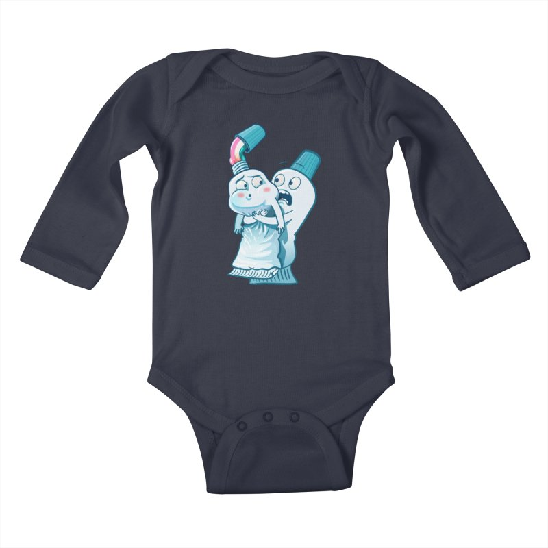 Heimlich maneuver Kids Baby Longsleeve Bodysuit by