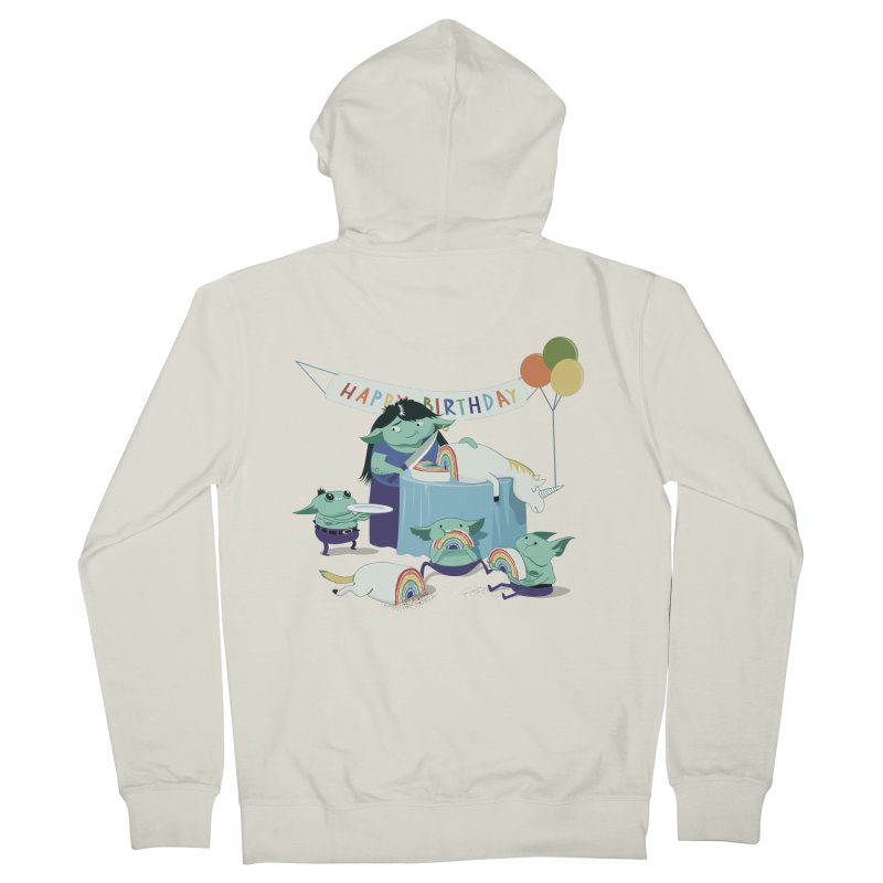 MOTHER GOBLIN'S 50TH Women's French Terry Zip-Up Hoody by