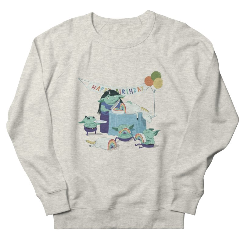 MOTHER GOBLIN'S 50TH Men's French Terry Sweatshirt by