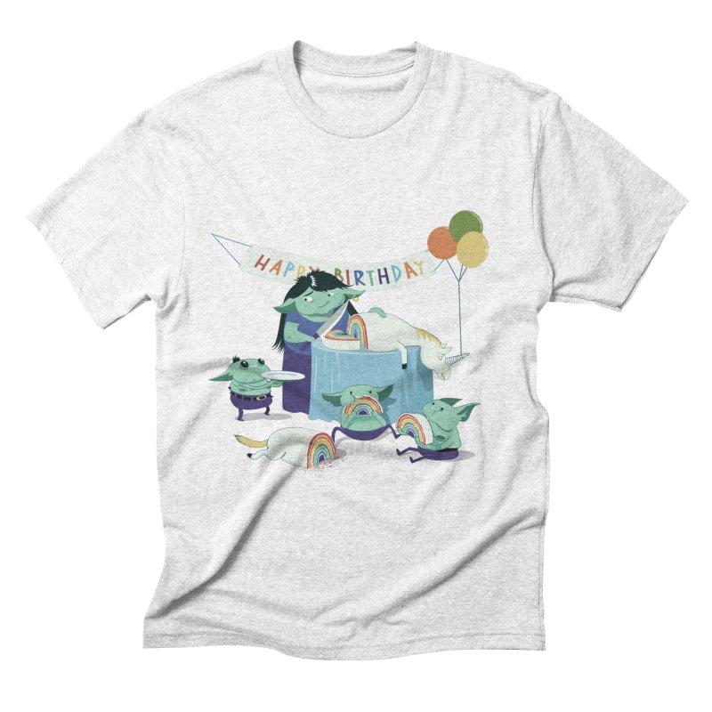 MOTHER GOBLIN'S 50TH Men's Triblend T-shirt by weoos02's Artist Shop