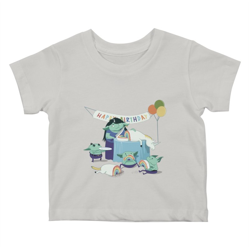 MOTHER GOBLIN'S 50TH Kids Baby T-Shirt by