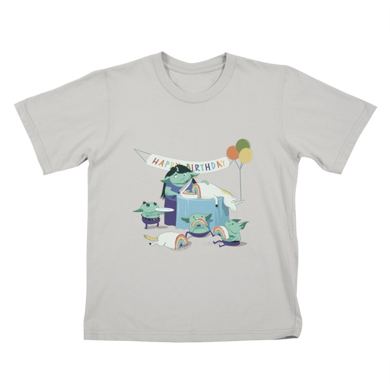 MOTHER GOBLIN'S 50TH Kids T-shirt by weoos02's Artist Shop