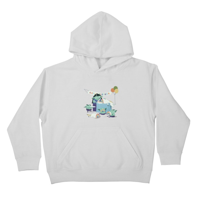 MOTHER GOBLIN'S 50TH Kids Pullover Hoody by weoos02's Artist Shop