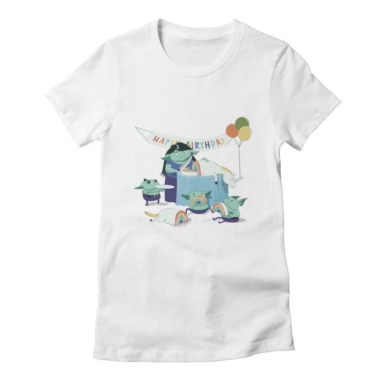 MOTHER GOBLIN'S 50TH Women's Fitted T-Shirt by weoos02's Artist Shop