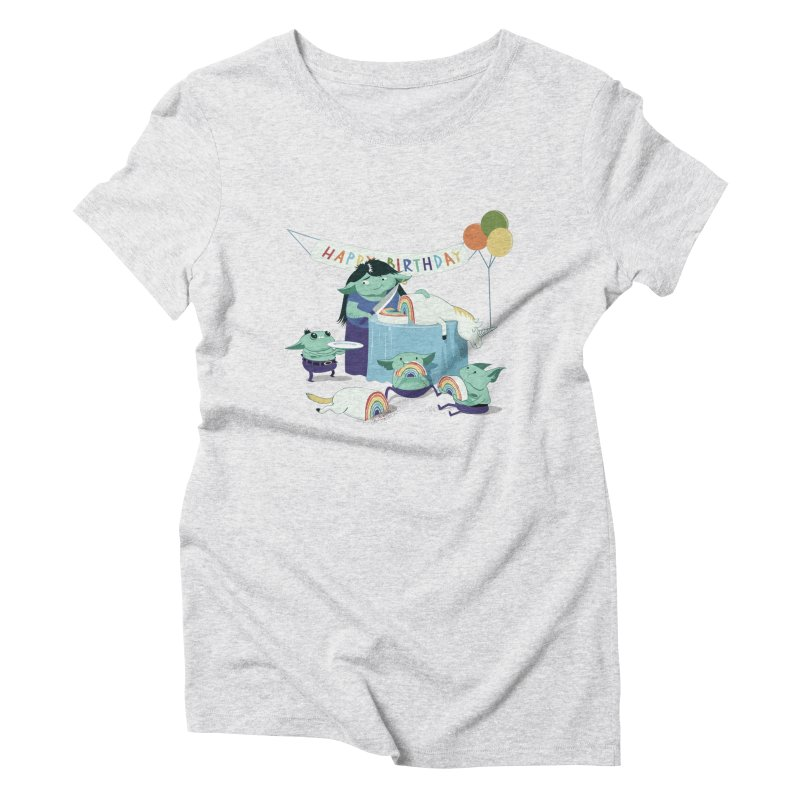 MOTHER GOBLIN'S 50TH Women's Triblend T-Shirt by