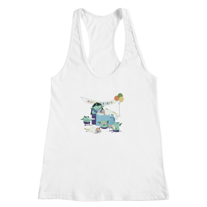 MOTHER GOBLIN'S 50TH Women's Racerback Tank by weoos02's Artist Shop