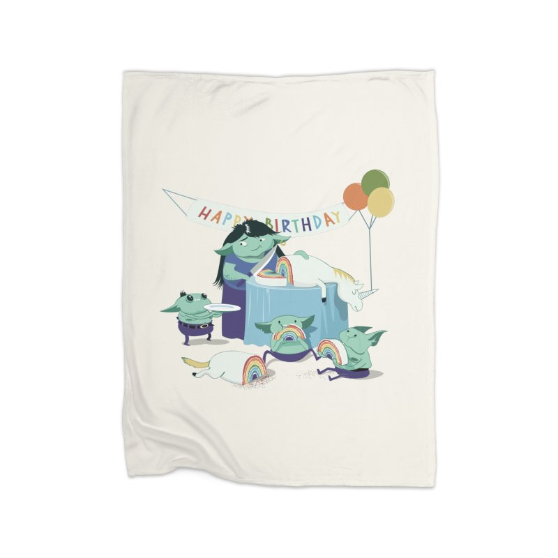 MOTHER GOBLIN'S 50TH Home Blanket by