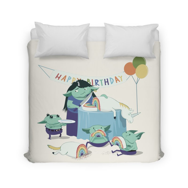 MOTHER GOBLIN'S 50TH Home Duvet by