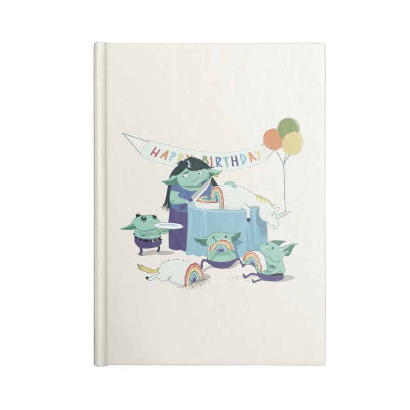 MOTHER GOBLIN'S 50TH Accessories Notebook by weoos02's Artist Shop