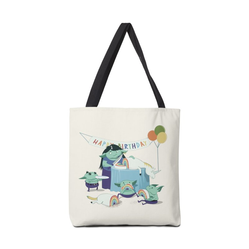 MOTHER GOBLIN'S 50TH Accessories Bag by weoos02's Artist Shop