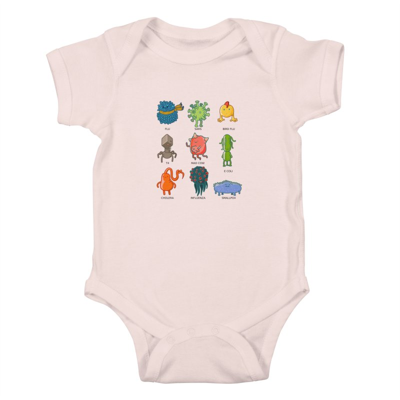 Know your poison Kids Baby Bodysuit by weoos02's Artist Shop