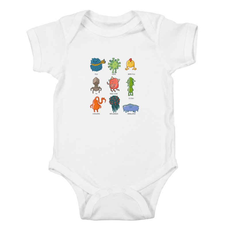 Know your poison Kids Baby Bodysuit by