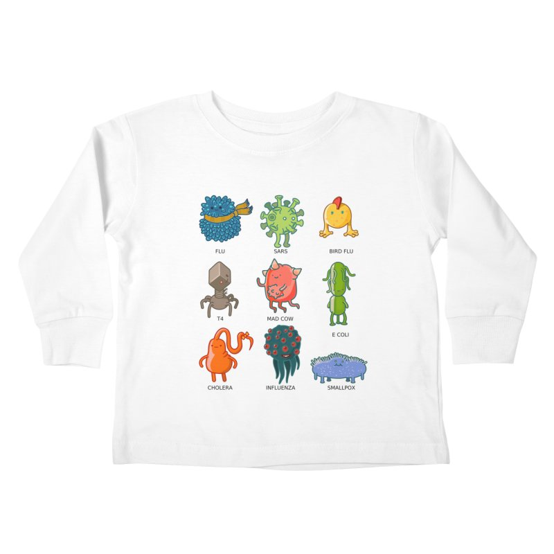 Know your poison Kids Toddler Longsleeve T-Shirt by weoos02's Artist Shop